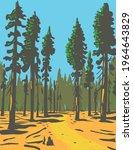giant sequoias growing in the... | Shutterstock .eps vector #1964643829