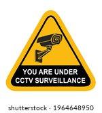 you are under cctv surveillance ...   Shutterstock .eps vector #1964648950