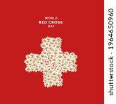 world red cross day  vector...   Shutterstock .eps vector #1964650960