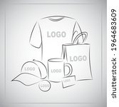 souvenirs templates set....   Shutterstock .eps vector #1964683609
