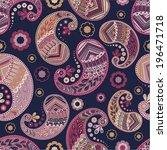seamless pattern | Shutterstock .eps vector #196471718