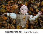 an image of little girl with... | Shutterstock . vector #19647361