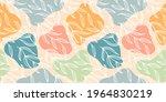 floral seamless pattern boho...   Shutterstock .eps vector #1964830219