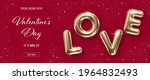 valentines day background with... | Shutterstock .eps vector #1964832493
