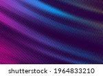 glowing halftone neon... | Shutterstock .eps vector #1964833210