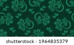 seamless green background...   Shutterstock .eps vector #1964835379