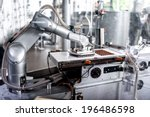 automatic robotic hand moving... | Shutterstock . vector #196486598