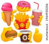 collection of various emoji...   Shutterstock .eps vector #1964930206