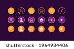 user profile ui elements kit....