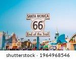 Route 66 Santa Monica End Of...