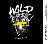 wild fierce soul spray painted... | Shutterstock .eps vector #1965010420