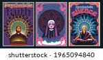 psychedelic religion poster set ... | Shutterstock .eps vector #1965094840
