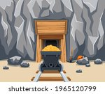 Entrance To Gold Mine With...