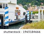 Ship Docking In The Harbor ...