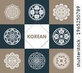 traditional korean symbols and...