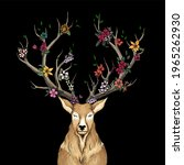A Flower That Blooms With Deer...