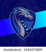 dragon character mascot e sport ... | Shutterstock .eps vector #1965275809