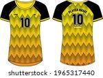 women sports jersey t shirt... | Shutterstock .eps vector #1965317440