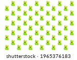 green frog wallpapers placed in ...   Shutterstock . vector #1965376183