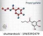 propyl gallate  n propyl... | Shutterstock .eps vector #1965392479