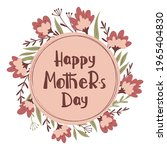 happy mothers day greetings...   Shutterstock .eps vector #1965404830