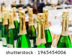 Champagne Bottles. Manufacture...