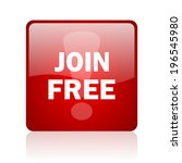 join free computer icon on... | Shutterstock . vector #196545980