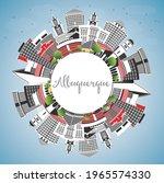 albuquerque new mexico city... | Shutterstock .eps vector #1965574330