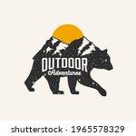 outdoor adventures. mountains... | Shutterstock .eps vector #1965578329