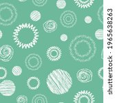 vector seamless pattern with... | Shutterstock .eps vector #1965638263