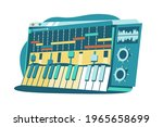 interface for composing music... | Shutterstock .eps vector #1965658699