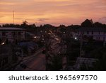 early evening in thailand on... | Shutterstock . vector #1965697570
