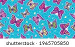 repeating vector pattern of... | Shutterstock .eps vector #1965705850
