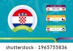 croatia national team schedule... | Shutterstock .eps vector #1965755836