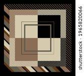 silk scarf design with... | Shutterstock .eps vector #1965820066