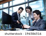 the image of business | Shutterstock . vector #196586516