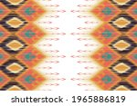 indian ikat pattern seamless...   Shutterstock .eps vector #1965886819