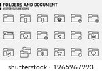 folders and document icons for...   Shutterstock .eps vector #1965967993