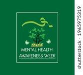 mental health awareness week... | Shutterstock .eps vector #1965975319