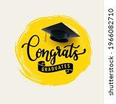 congrats graduates  class of...   Shutterstock .eps vector #1966082710