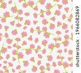 seamless floral pattern design... | Shutterstock .eps vector #1966082869