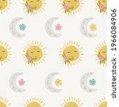 whimsical vector baby and... | Shutterstock .eps vector #1966084906