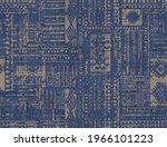 modern abstract  contemporary... | Shutterstock .eps vector #1966101223