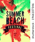 summer beach festival... | Shutterstock .eps vector #1966107346