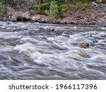 Mountain River Rapids   Poudre...