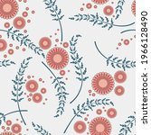 Elegant Floral Seamless Pattern....