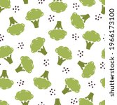 hand drawn seamless pattern of...   Shutterstock .eps vector #1966173100