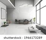 Living Room Interior Mockup...