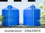 plastic water tank | Shutterstock . vector #196619870