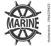theme marin  style vintage... | Shutterstock .eps vector #1966229623